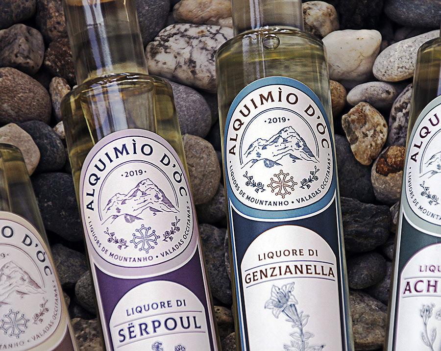 liquori artigianali alquimio d'oc